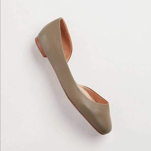 New J.Jill Yvette Asymmetric Flats Shoes 8.5